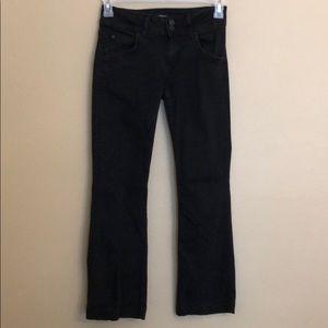Hudson Jeans Signature Boot Cut Black Size 27